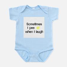 Pee When I Laugh Infant Creeper
