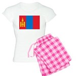 Mongolia Flag Women's Light Pajamas