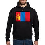 Mongolia Flag Hoodie (dark)