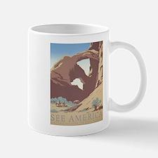 See America WPA Poster Mug