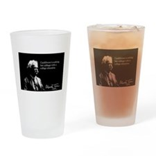 Mark Twain, Cauliflower Quote, Drinking Glass