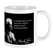 Mark Twain, Impromtu Speech, Mug