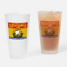 New Brunswick Flag Drinking Glass