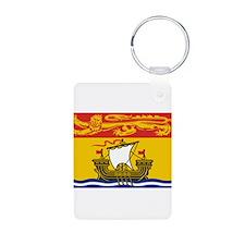 New Brunswick Flag Keychains