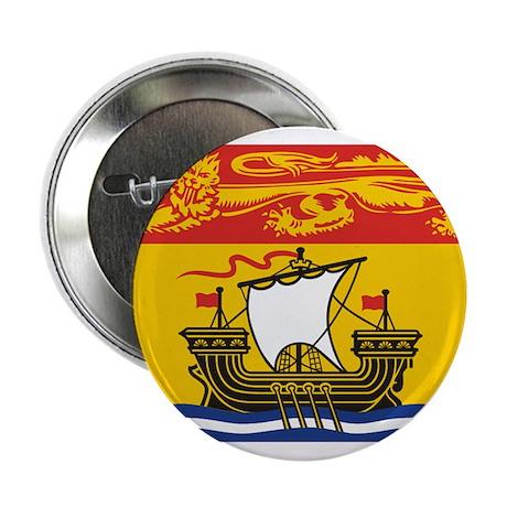 "New Brunswick Flag 2.25"" Button"