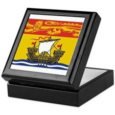 New Brunswick Flag Keepsake Box