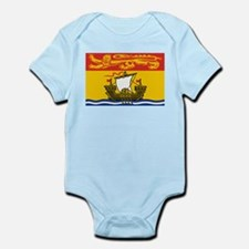 New Brunswick Flag Infant Bodysuit