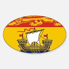New Brunswick Flag Decal