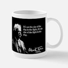 Mark Twain, The Fight in the Dog, Mug
