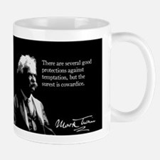Mark Twain, Temptation and Cowardice, Mug