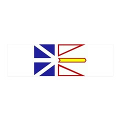 Newfoundland Flag 21x7 Wall Peel