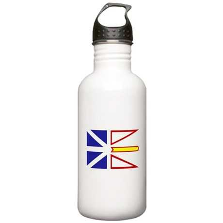 Newfoundland Flag Stainless Water Bottle 1.0L