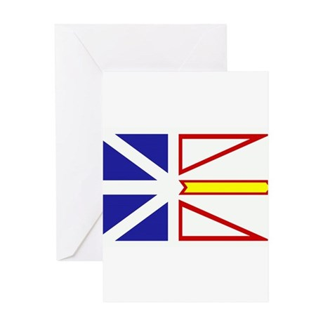Newfoundland Flag Greeting Card
