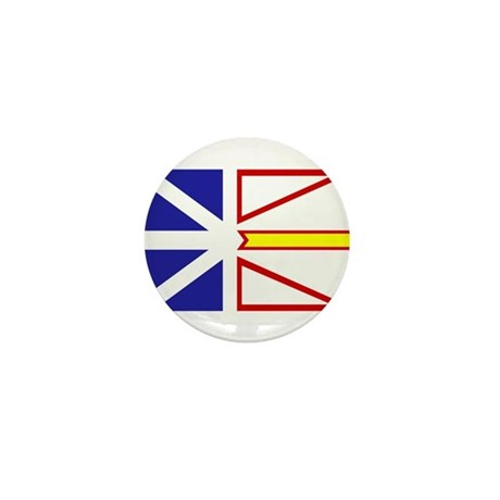 Newfoundland Flag Mini Button