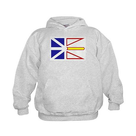 Newfoundland Flag Kids Hoodie