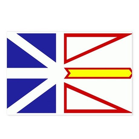 Newfoundland Flag Postcards (Package of 8)