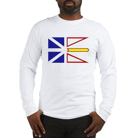 Newfoundland Flag Long Sleeve T-Shirt