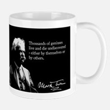 Mark Twain, Geniuses, Undiscovered, Mug