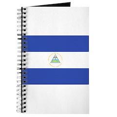 Nicaragua Flag Journal