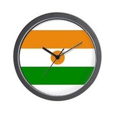 Niger Flag Wall Clock