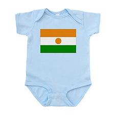 Niger Flag Infant Bodysuit