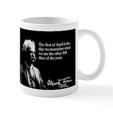 Mark Twain, April 1st, Mug