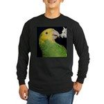 Wasabi, Hey! Long Sleeve Dark T-Shirt
