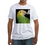Wasabi, Hey! Fitted T-Shirt