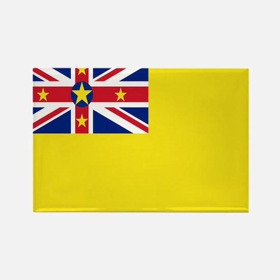 Niue Flag Rectangle Magnet