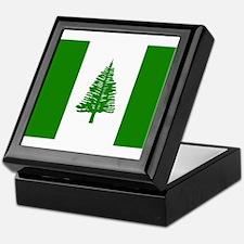 Norfolk Island Flag Keepsake Box