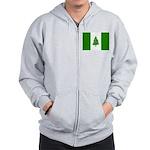 Norfolk Island Flag Zip Hoodie