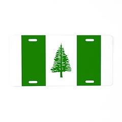 Norfolk Island Flag Aluminum License Plate