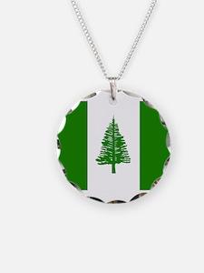 Norfolk Island Flag Necklace
