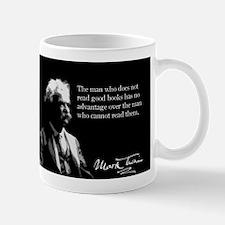 Mark Twain, Great Reading Quote, Mug