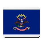 North Dakota Flag Mousepad