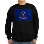 North Dakota Flag Sweatshirt (dark)