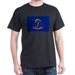 North Dakota Flag Dark T-Shirt