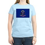 North Dakota Flag Women's Light T-Shirt