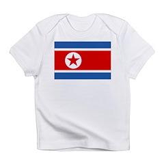 North Korea Flag Infant T-Shirt