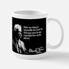 Mark Twain, Copyright Law, Mug