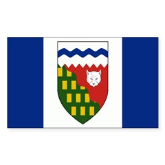 Northwest Territories Flag Decal