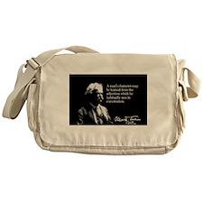 Mark Twain, Judging Man's Character, Messenger Bag