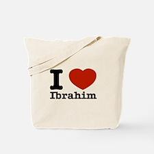 I love Ibrahim Tote Bag