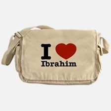 I love Ibrahim Messenger Bag