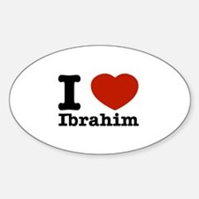I love Ibrahim Decal