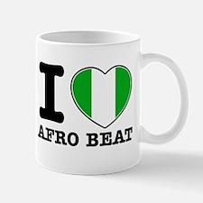 I love Afro Beat Mug