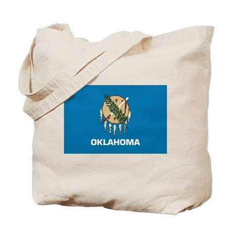 Oklahoma Flag Tote Bag