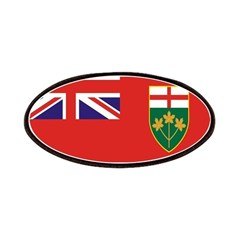 Ontario Flag Patches