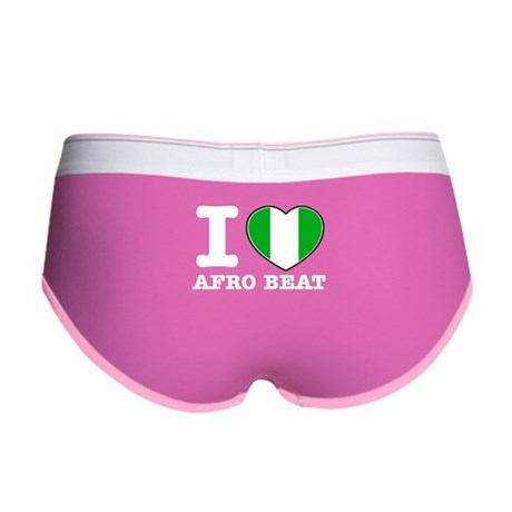 I love Afro Beat Women's Boy Brief