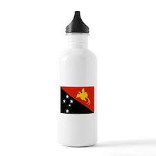Papua new Guinea Flag Water Bottle